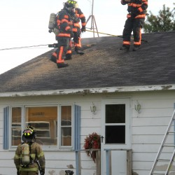 Fire claims home in Eastbrook
