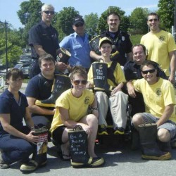 Fire crew to collect donations for MDA