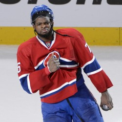 Canadiens' Subban: Racial slurs not Bruins' fault
