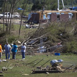 A look at the death toll from Southern storms