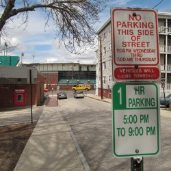 Change in Portland parking rules irks some