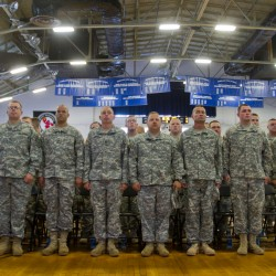 Maine National Guard's 133rd returns to U.S. soil from Afghanistan deployment