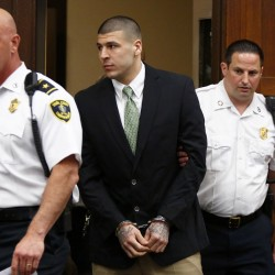 Ex-Patriots star Hernandez due in court Wednesday on charges tied to 2012 double murder