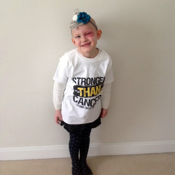 Ellie LaBree was diagnosed with a form of cancer last October.