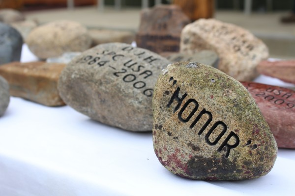 Qualities of Maine's fallen heroes, men and women who have died in the line of duty, are etched on rocks found throughout Maine by The Summit Project, a nonprofit organization with the mission to create a living memorial to these fallen heroes.