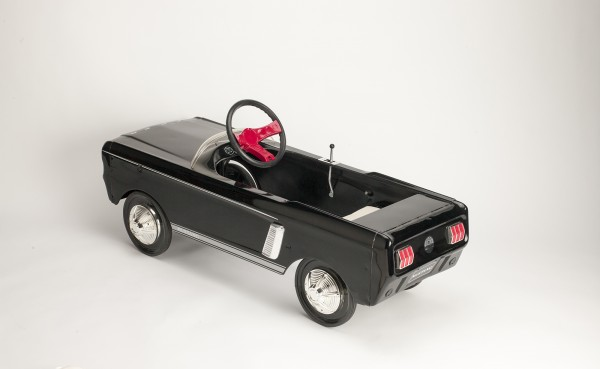 Ford introduced this pedal-driven miniature of its sporty Mustang in the 1960s for fans too young to drive.