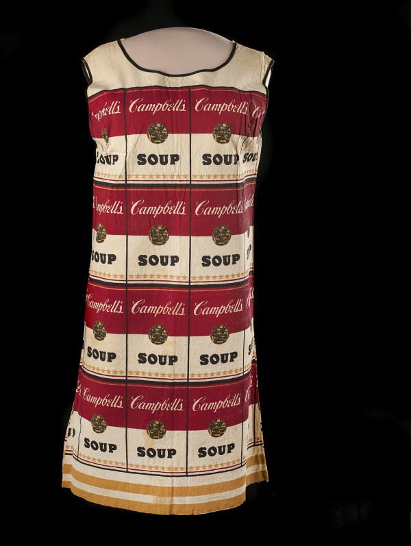"It was just four years before the first Earth Day when this paper ""Souper"" dress debuted in 1966, when it was still a golden age of disposability."