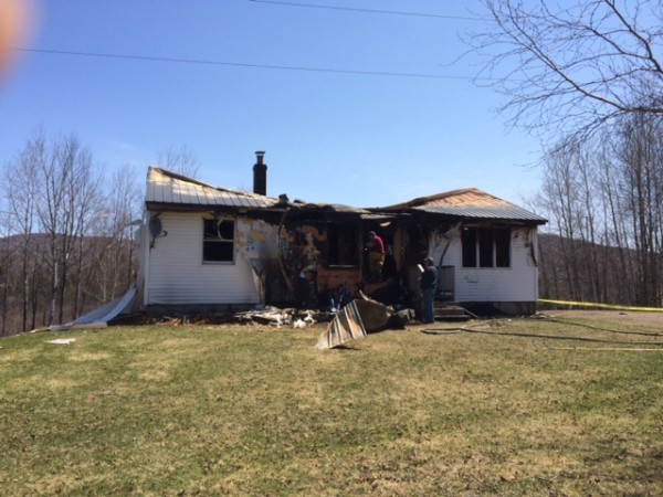State police and fire officials are asking for the public''s help with their investigation into a suspicious fire at 3 a.m. Thursday at this unoccupied summer residence in Oakfield.