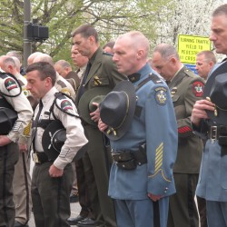 Fallen officers honored in Aroostook County