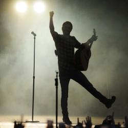 Dierks Bentley performs onstage at the Darlings Waterfront Pavilion in Bangor in 2013.