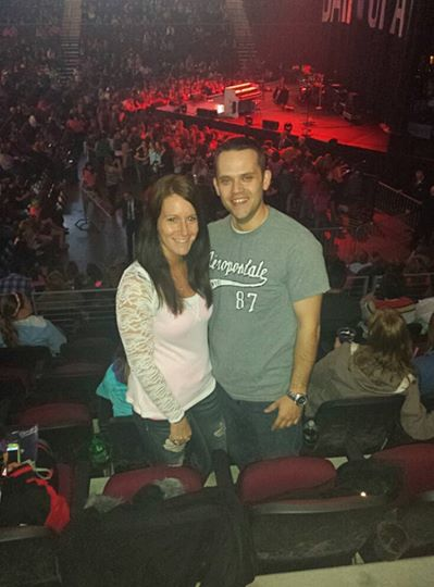 Jennie Cates and Adam Robinson briefly upstaged country music star Hunter Hayes on Thursday night at the Cross Insurance Center when Robinson proposed to Cates toward the end of Hayes' hit song &quotWanted.&quot