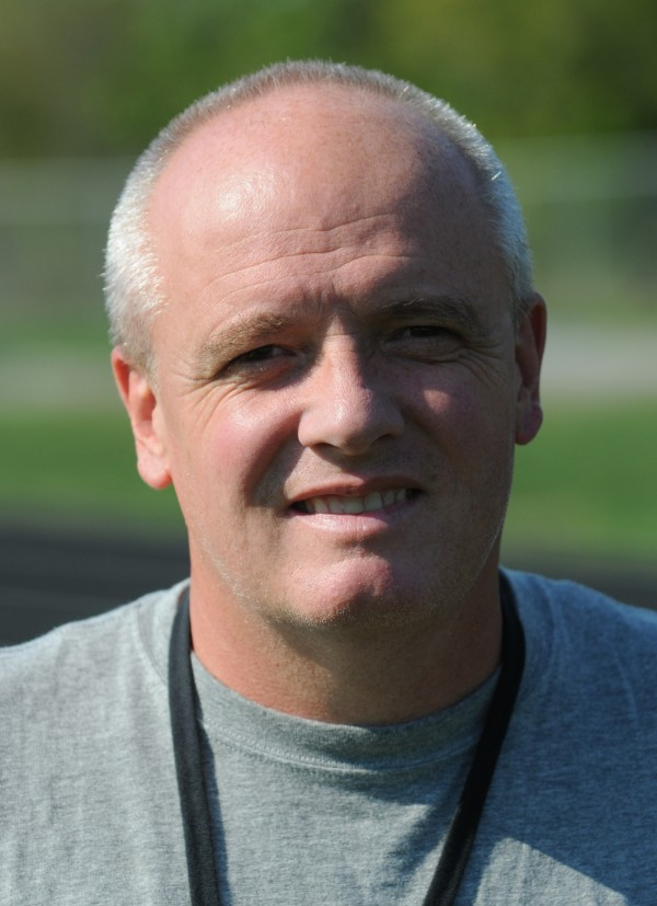 Bangor High School boys soccer coach Dave Patterson