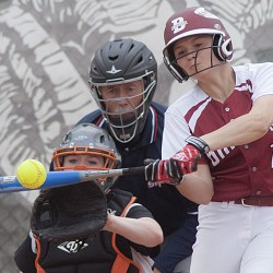 Stanhope pitches Rams to 6-1 victory over Witches