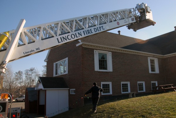 A reduced town budget could result in two Lincoln firefighters being laid off from the department, according to town officials.