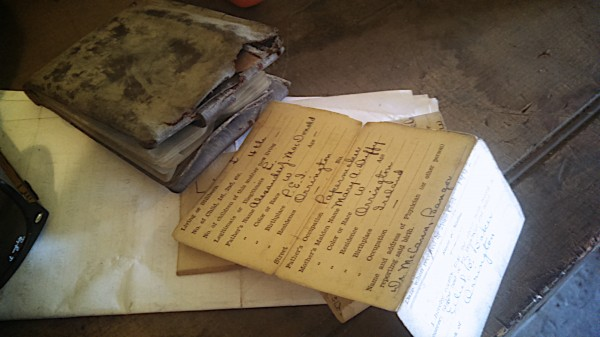 A long-lost wallet found under the floorboards of downtown Bangor's Dakin building.