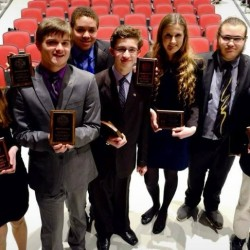 Bangor High School Speech and Debate students head off to championships