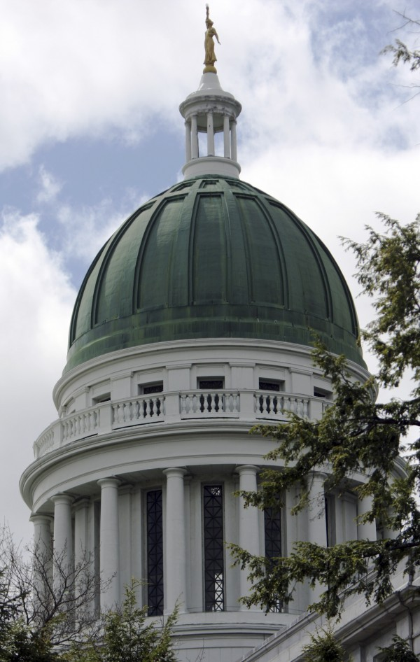 Plans for what the Maine Legislature will do with the more than 7,000 square feet of copper being replaced on the State House dome remain up in the air.