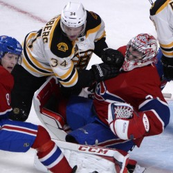 Canadiens take first game from Bruins in second overtime