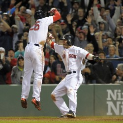Ross homers twice in win as Youkilis plays final game for Red Sox