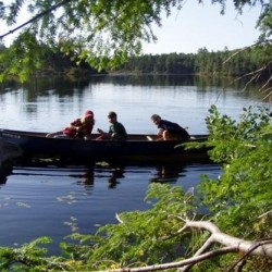 Water, canoe, children, nature - A winning combination!