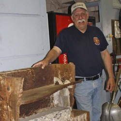 Relics connect Brewer to World Trade Center