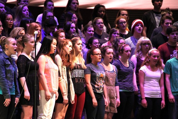 TA's spring Choral Concerts will feature the school's Treble Choir, Chamber Singers, and the Concert Choir.
