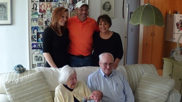 Five generation,s