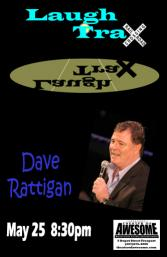 Dave Rattigan Gets off The Down Easter and wanders into the Theater of Awesome's &quotLaugh TraX Comedy Club