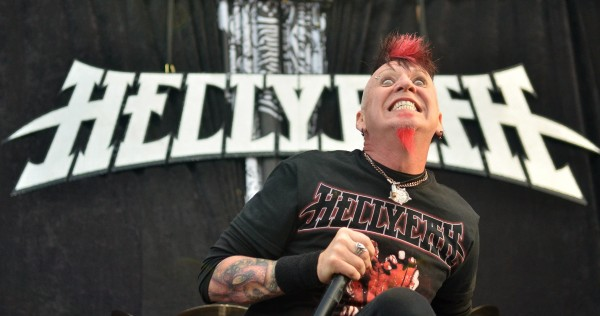 Hellyeah front man Chad Gray turns in an electric performance in the Rise Above Fest Saturday at the Waterfront Pavilion in Bangor.