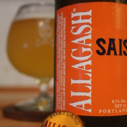 Allagash Brewing Co.'s saison is a straightforward example of the brawnier beer in America