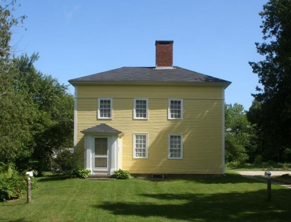 Jonathan Fisher House Memorial 1814 Historic House Museum
