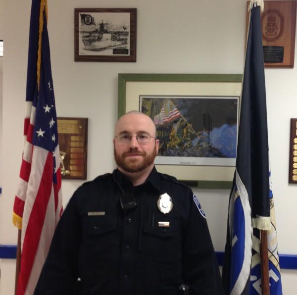 Rockland Police Officer John Bagley.