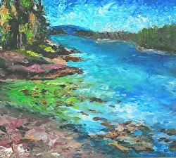 'Plein Air Paintings: A Beautiful Order Reflecting Peace'