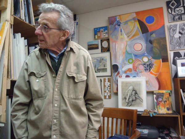 Robert Nason, 90, has been painting for 70 years. His show Nason @ Ninety opens at Running with Scissors in Portland Saturday.