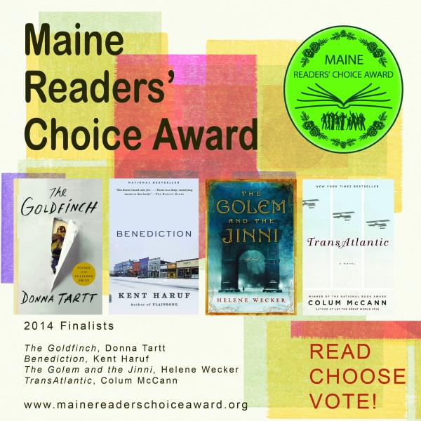 Maine Readers' Choice Award