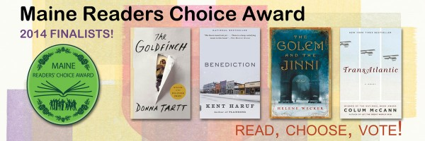Maine Readers' Choice Award