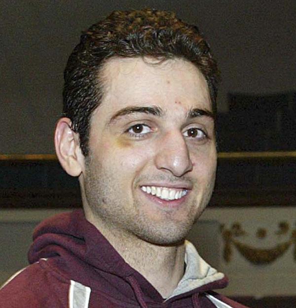 Tamerlan Tsarnaev, 26, is pictured in 2010 in Lowell, Mass.