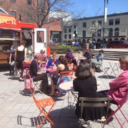 Can a food truck, free Wi-Fi save Congress Square Park?