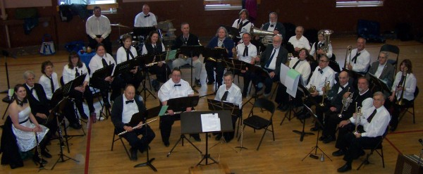 The HJ Crosby Community Band of Dexter