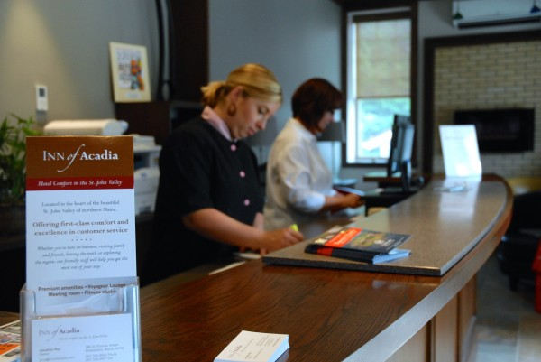 The Inn of Acadia's staff is ready to meet their guests' needs 24-hours a day.
