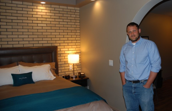 Inn of Acadia owner Jonathan Roy hopes his Madawaska boutique-style hotel draws people and business to the region.