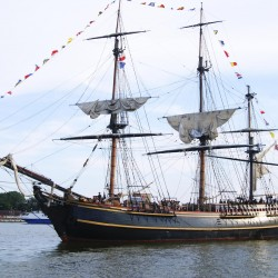 Ship replica used in 'Mutiny on the Bounty,' 'Pirates of the Caribbean' opens to visitors in Belfast