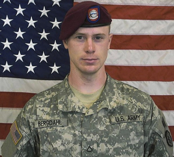 U.S. Army Sgt. Bowe Berghdal is pictured in this undated handout photo provided by the U.S. Army and received by Reuters on Saturday.