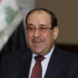Maliki stands with Sunni leaders, appeals for Iraqi unity