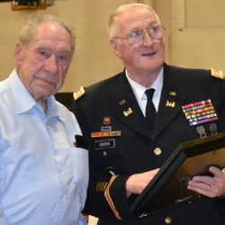 93-year-old Thomaston veteran finally presented service awards, medals