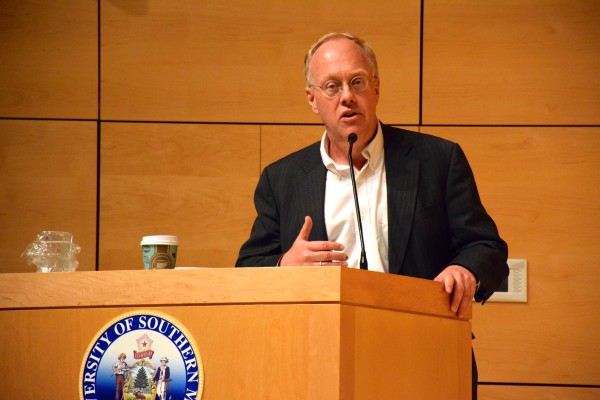 Chris Hedges, a Pulitzer prize-winning journalist, described capitalism as an evil force that will sacrifice generations of Americans for short-term profit.