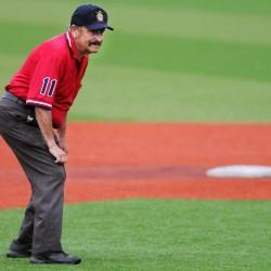 Veteran umpire Damren recovering from hip replacement surgery