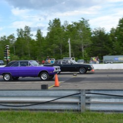 'It's fun': Hot rod lawn mowers compete at Winterport Dragway