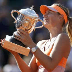 Sharapova loses at Wimbledon, will drop from No. 1