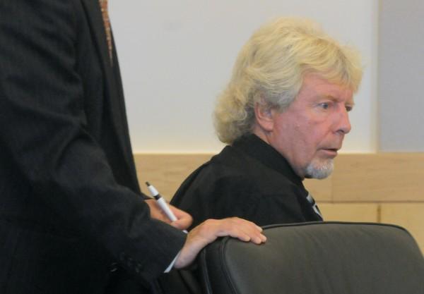 Dana Wilson at the Penobscot Judicial Center in Bangor on June 6.